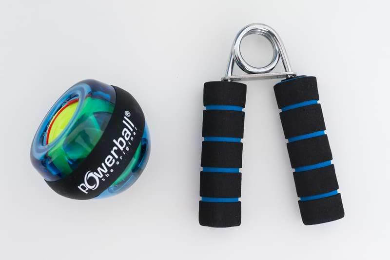 Powerball und Handmuskeltrainer